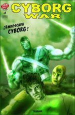 Cyborg War #3 / Trebi Mann.