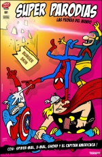 Super Parodias #1. Trebi Mann.