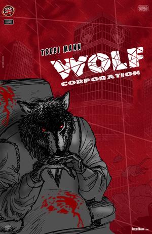 WOLF CORPORATION .Una Novela Gráfica de TREBI MANN.