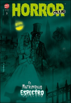 HORROR CLUB Nº 3. - Un comic de TREBI MANN.