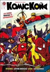 KOMICKOÑA #1 - Un Comic Magazine de TREBI MANN.