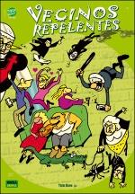 VECINOS REPELENTES. Un comic de TREBI MANN.