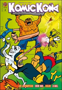 KOMICKOÑA Nº 2 - Un Comic Magazine de TREBI MANN.